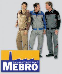 Arbeitsschutzkleidung Mebro mann diamanttechnik Bochum
