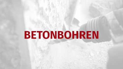 Teaser Betonbohren mann diamanttechnik Bochum